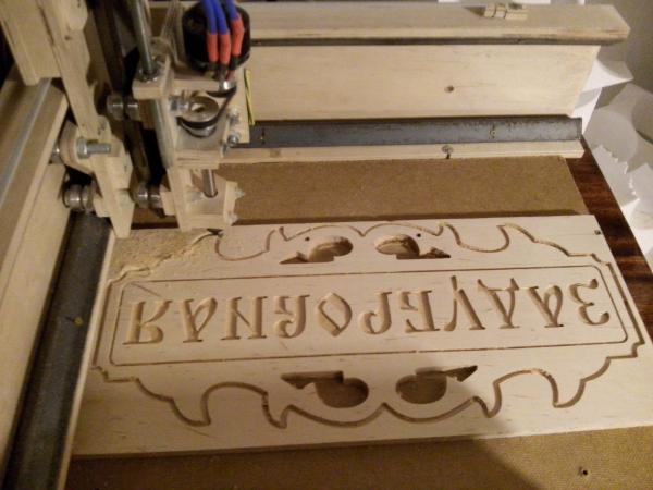 CNC homemade