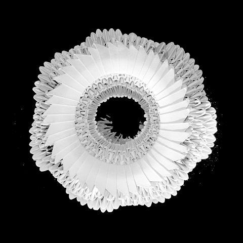 Vase of origami