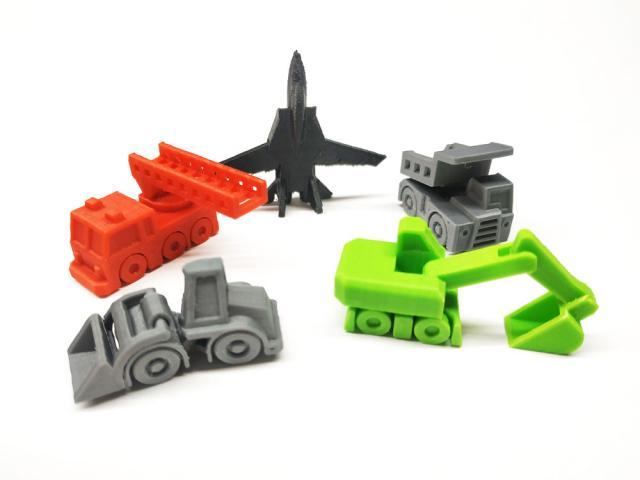 Мини-игрушки на 3д-принтере