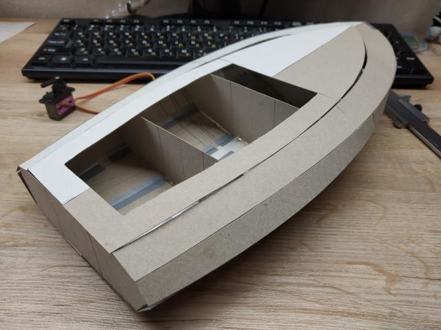 100% DIY water-jet boat