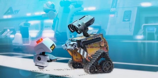 Robot WALL•E on a 3D printer + paper scan