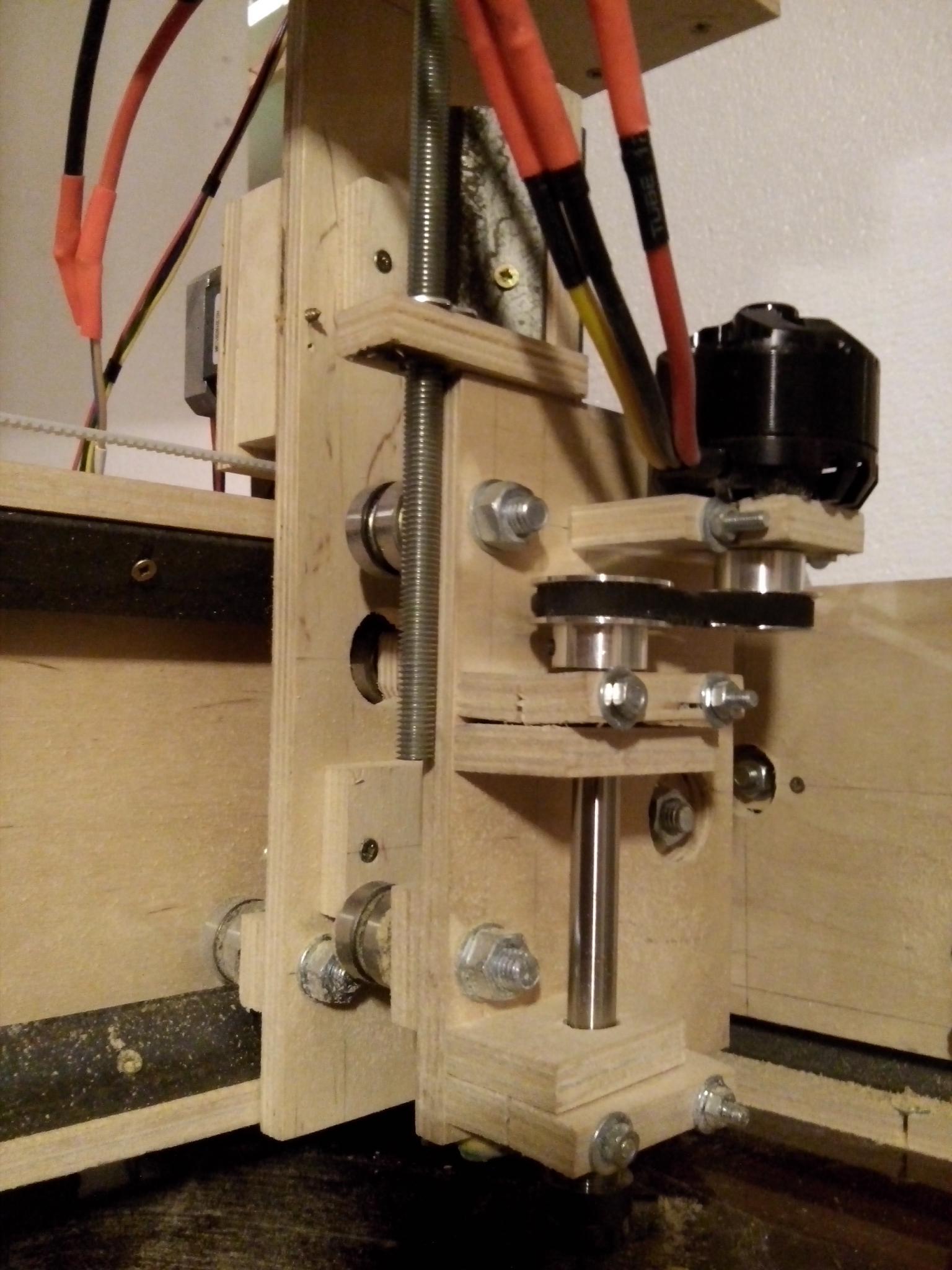 CNC homemade